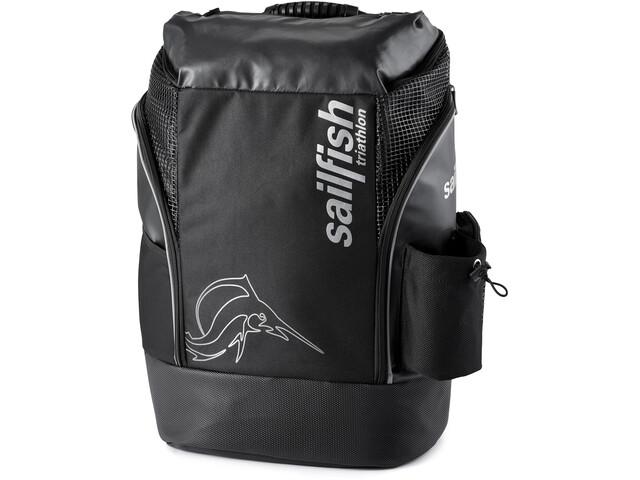baf6e2230bf17 sailfish Cape Town Backpack black silver günstig kaufen